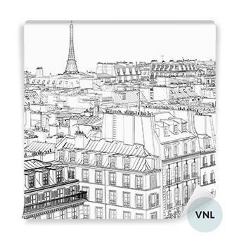 Fototapeta - Dachy w Paryżu