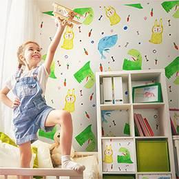 Omyvatelna Fototapeta do dětského pokoje - barevné zvířátka