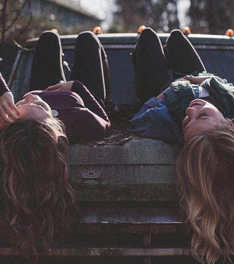 Galna tjejer