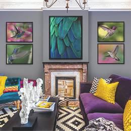 Plakáty do obývacího pokoje - Kolibříci