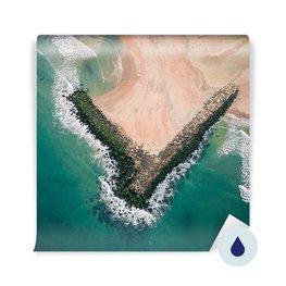 Fototapeta - Widok z lotu ptaka na morze