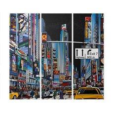 Baskı - New York'taki Cadde
