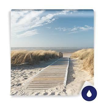 Fototapeta - Severní moře pláž v Langeoog