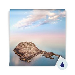 Fotomural - Paisaje marino minimalista