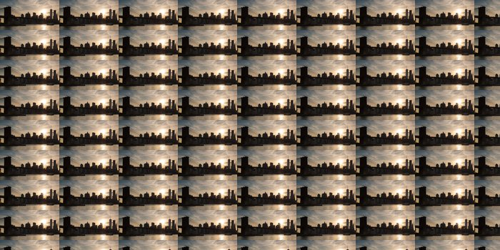 Vinylová Tapeta Panoramatický pohled na dolní Manhattan a Brooklyn Bridge v New Yor - Brooklynský Most