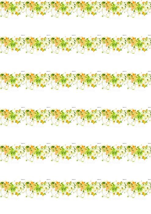 Vinylová Tapeta Výprava květinovými - Pozadí