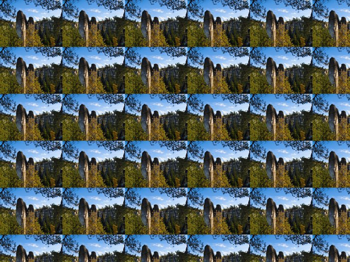 Vinylová Tapeta Adršpach - skalní město - Outdoorové sporty