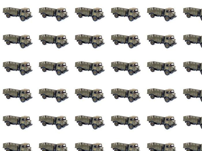 Vinylová Tapeta Sběratelskou Model ruský GAZ-66, na bílém pozadí - Hry