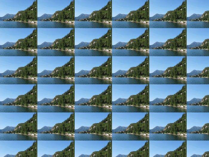 Vinylová Tapeta Pohled na jezera Como od vily Monastero. Itálie - Voda