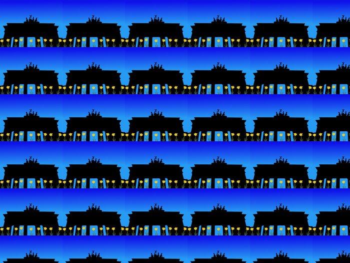 Vinylová Tapeta Braniborská brána na jaře - Evropská města