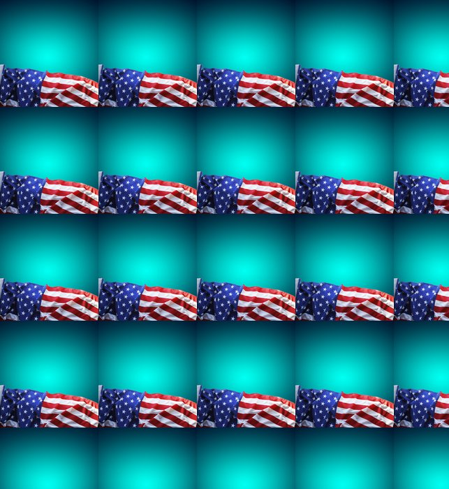 Vinylová Tapeta Americká vlajka - Značky a symboly