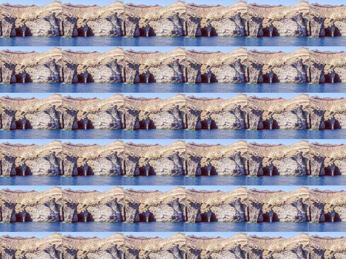 Vinylová Tapeta Retro vypadají Santorini v Řecku - Umění a tvorba