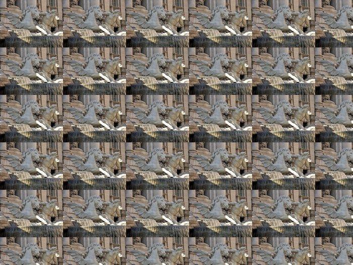 Vinylová Tapeta Fontána di Trevi detail 2 - Imaginární zvířata