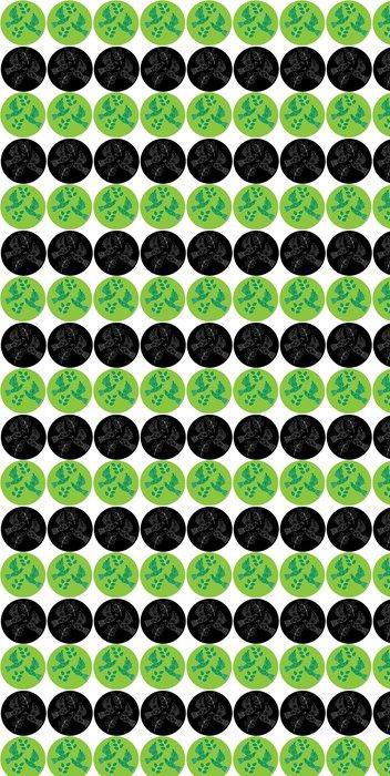 Vinylová Tapeta Dva znaky s holuby - Značky a symboly