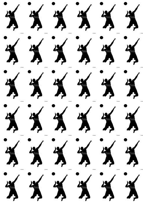 Vinylová Tapeta Volejbal skok úkol - Nálepka na stěny