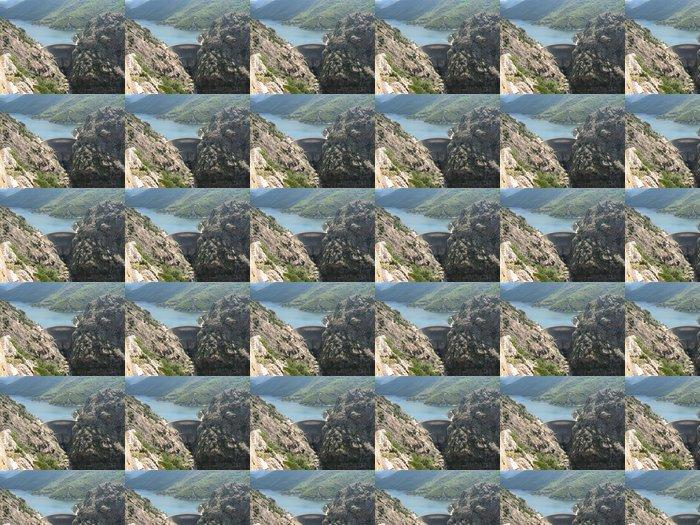 Vinylová Tapeta Corse - Folla - Barrage - Prázdniny