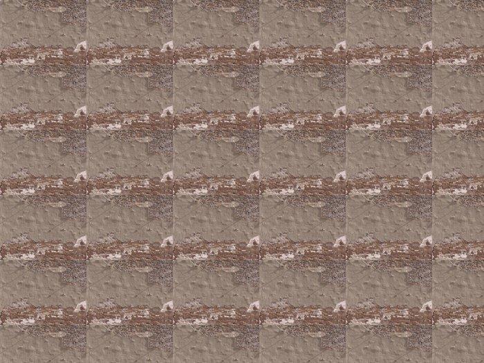 Vinylová Tapeta Rozpadající se cihlové zdi -