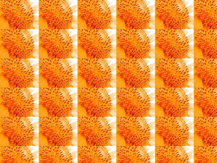 Vinylová Tapeta Orange Pyl - Květiny