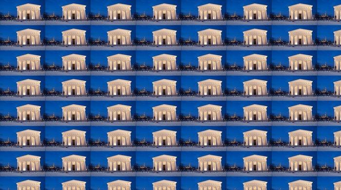 Vinylová Tapeta Vídeň - Volksgarten. Theseus chrám - Evropská města