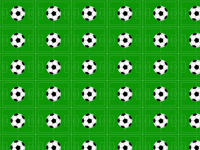 Vinylová Tapeta Fotbal na hřišti obrázku - Pozadí