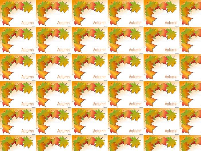 Vinylová Tapeta Herbst - Roční období
