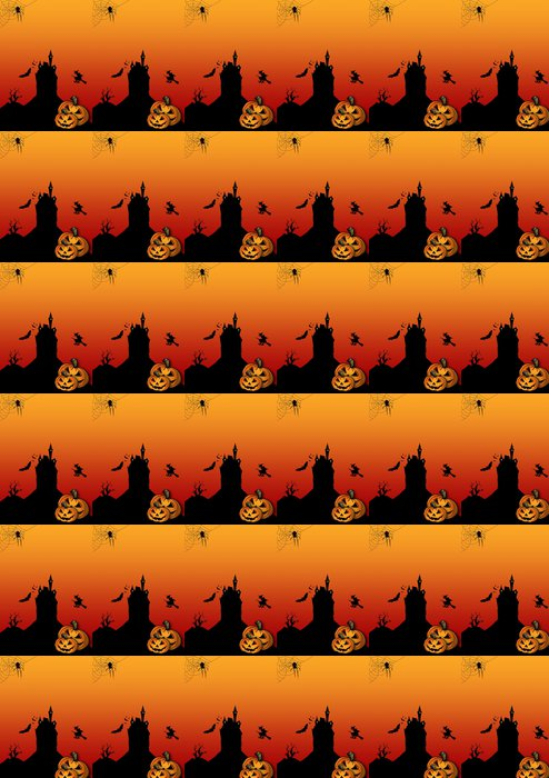 Vinylová Tapeta Halloween leták Blanko - Mezinárodní svátky