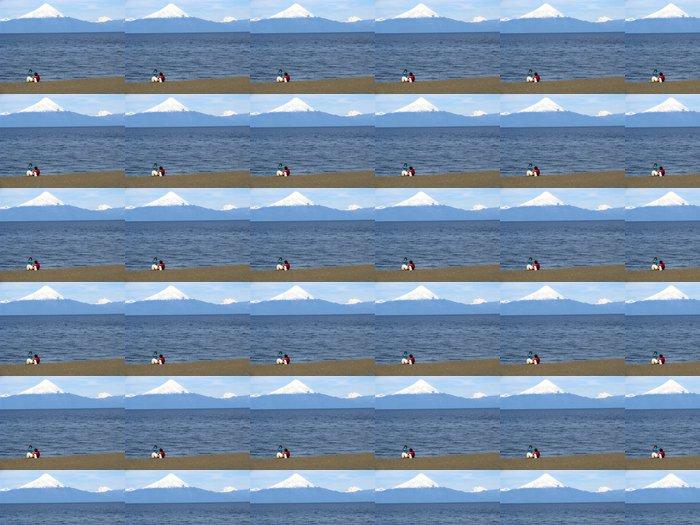 Vinylová Tapeta En la Orilla del Lago Llanquihue - Amerika