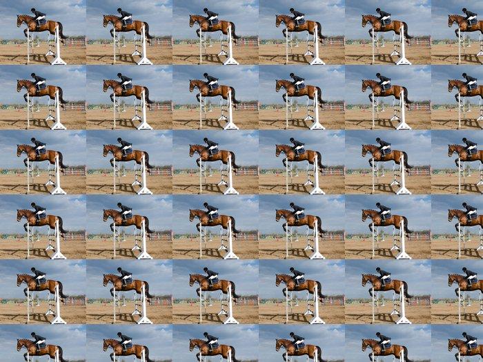 Vinylová Tapeta Horse show skok - Individuální sporty