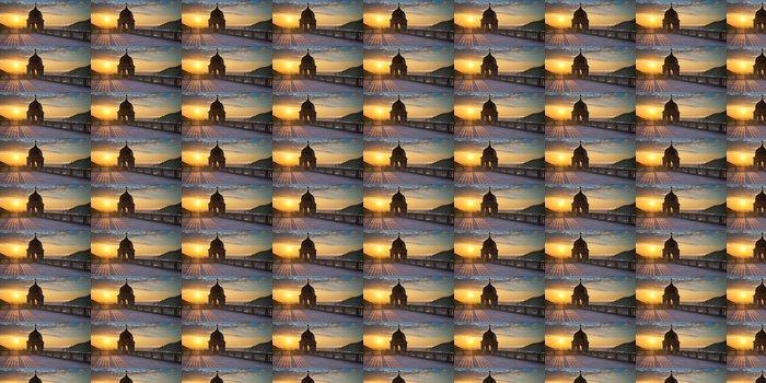 Vinylová Tapeta Ausblick von der Schlossterrasse - Prázdniny