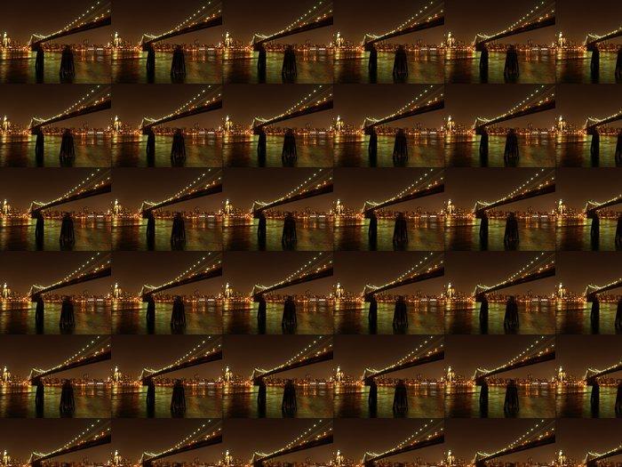 Vinylová Tapeta MANTHATTAN SKYLINE - Americká města