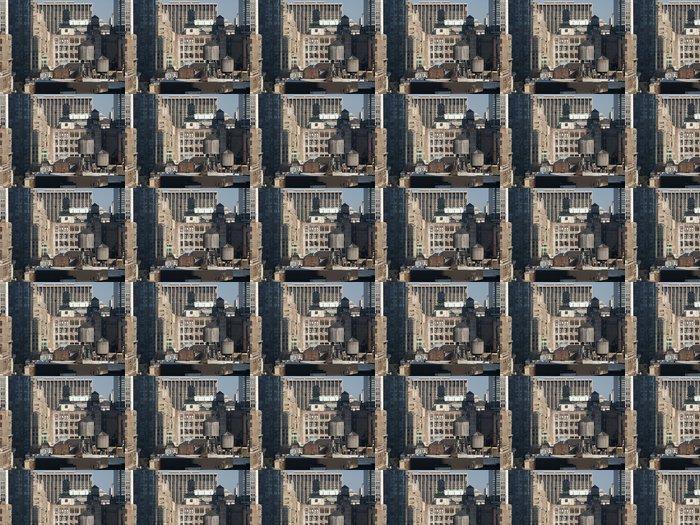 Vinylová Tapeta Střešní Vodní nádrže - Americká města