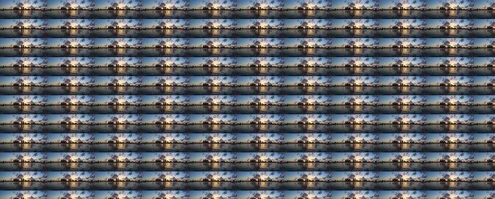Vinylová Tapeta West Palm Beach, Florida, USA západ slunce nad mezižeberní - Amerika