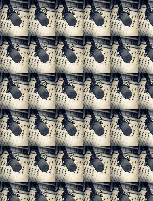 Vinylová Tapeta Část směšovací panelu v rozhlasovém studiu - Značky a symboly