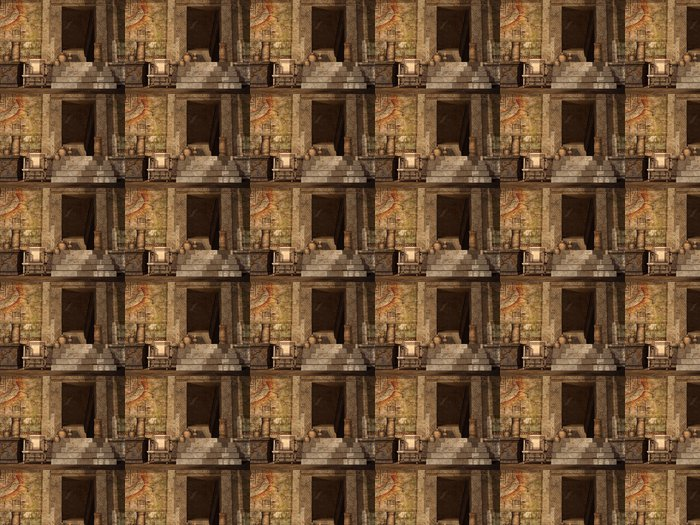 Vinylová Tapeta Starověký egyptský chrám - Afrika