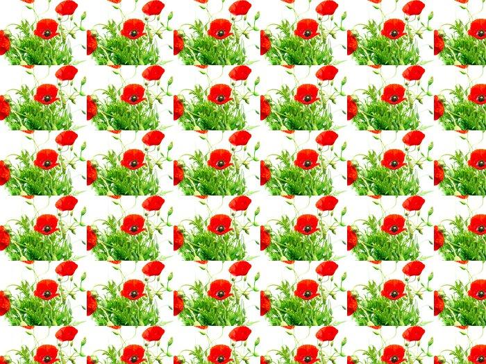 Vinylová Tapeta Red Poppy - Témata