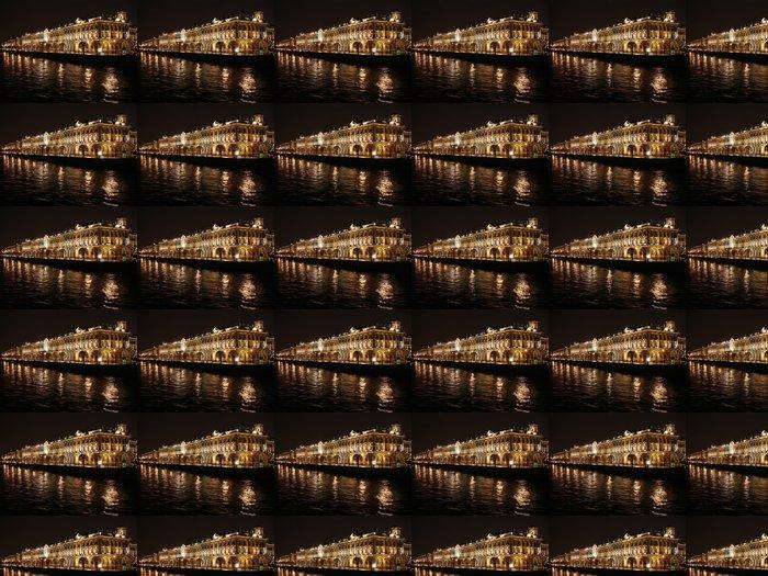 Vinylová Tapeta Zimní palác. Palace nábřeží - Evropa