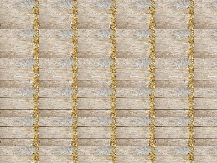 Vinylová Tapeta Vánoční dekorace na texturu dřeva. pozadí staré desky - Mezinárodní svátky