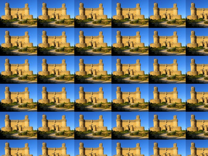 Vinylová Tapeta Castello Manzanares El Real - Evropská města