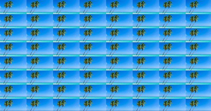 Vinylová Tapeta Tropické moře - Voda