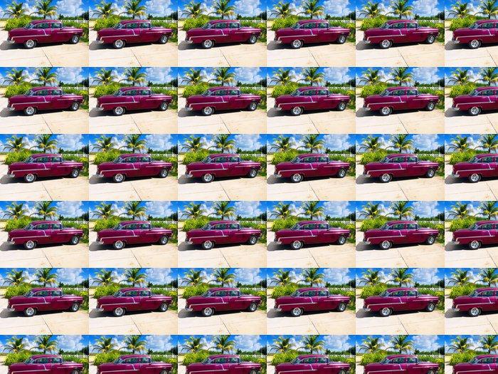 Vinylová Tapeta Kuba auto - Kuba