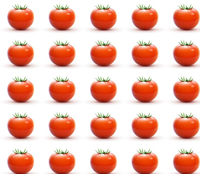 Vinylová Tapeta Červená čerstvé rajče - Zelenina