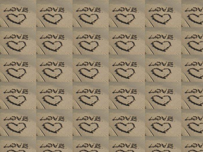 Vinylová Tapeta Srdce a láska - Štěstí