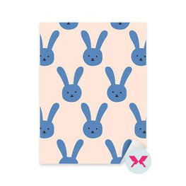Sticker Toddler - Rabbit pattern