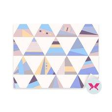 Sticker - Geometric retro pattern