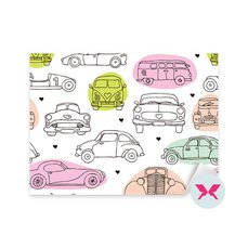 Sticker Teenager's room - Vintage oldtimer cars