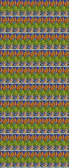 Vinylová Tapeta Abstraktní květiny ve váze - Umění a tvorba