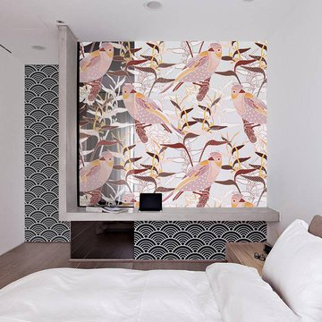 Wall Mural & Sticker Bedroom - Japanese Style