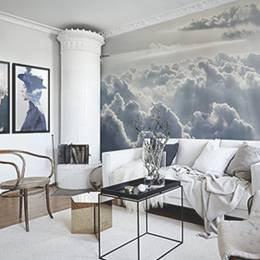 Wall Mural & Posters Living Room - Head in the clouds