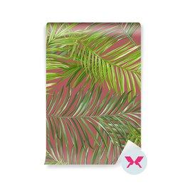 Duvar Kağıdı - Tropik Palm Yaprakları Arka Plan Yaprakları