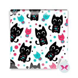 Duvar Resmi anaokulu çocuğu - Komik kedi yavruları